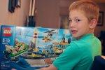 Zestawy klocków drewnianych i inne zabawki dla chłopców